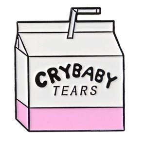 NEW Cry Baby Tears Enamel Pin Brooch